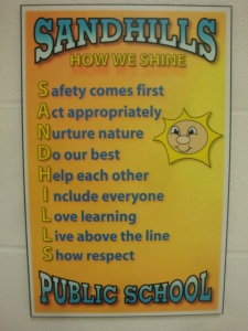 Sandhills Public School Creed