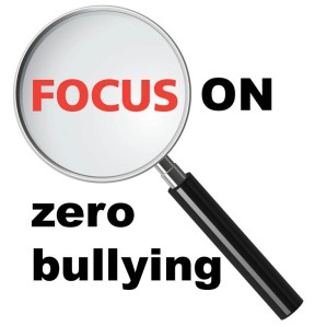 No bullying is the focus