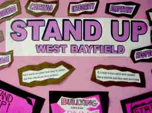 Stand Up at West Bayfield Elementary